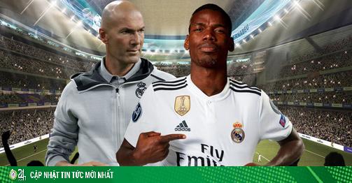 Real Madrid bày mưu cuỗm Pogba khỏi MU, cử Zidane gặp kín siêu cò
