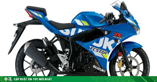 Xe côn tay 2020 Suzuki GSX-R125 bản Smartkey giá gấp đôi Yamaha Exciter