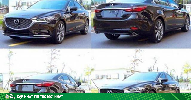 Mazda 6 2020 sắp bán tại Việt Nam bất ngờ lộ diện