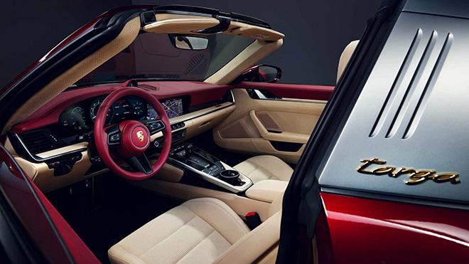 Porsche tung phiên bản Targa 4S 2021 Heritage Edition đầy mê hoặc - 11