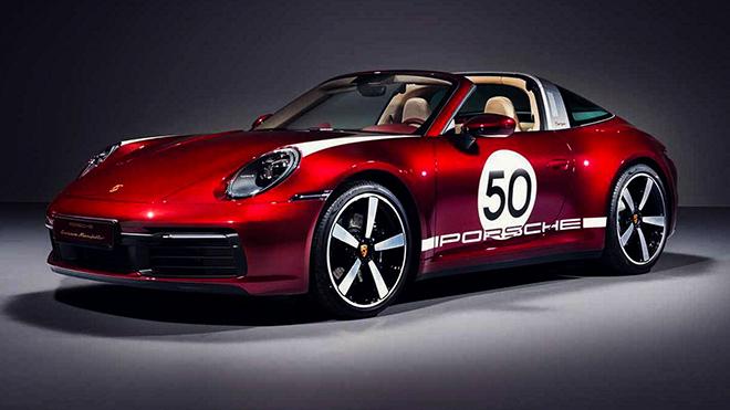 Porsche tung phiên bản Targa 4S 2021 Heritage Edition đầy mê hoặc - 1