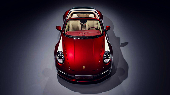 Porsche tung phiên bản Targa 4S 2021 Heritage Edition đầy mê hoặc - 2