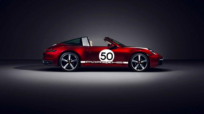 Porsche tung phiên bản Targa 4S 2021 Heritage Edition đầy mê hoặc - 3