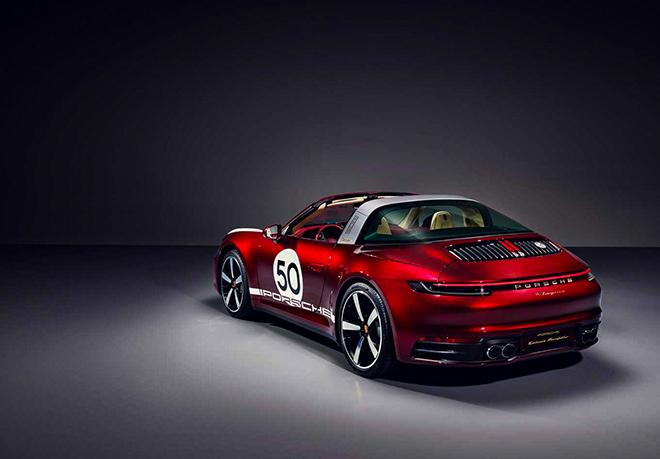 Porsche tung phiên bản Targa 4S 2021 Heritage Edition đầy mê hoặc - 4