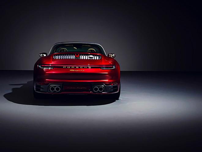 Porsche tung phiên bản Targa 4S 2021 Heritage Edition đầy mê hoặc - 5