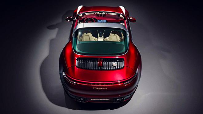 Porsche tung phiên bản Targa 4S 2021 Heritage Edition đầy mê hoặc - 6