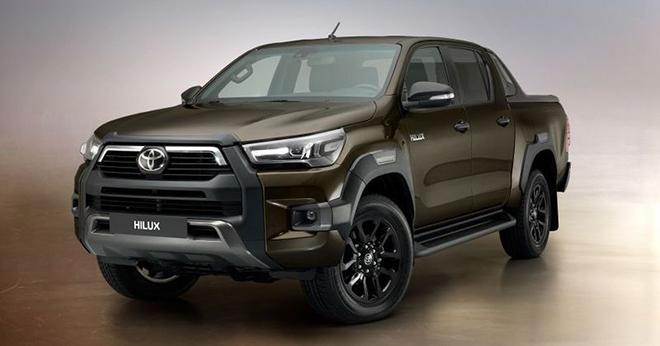 Toyota Hilux 2021 ra mắt, giá từ 520 triệu đồng