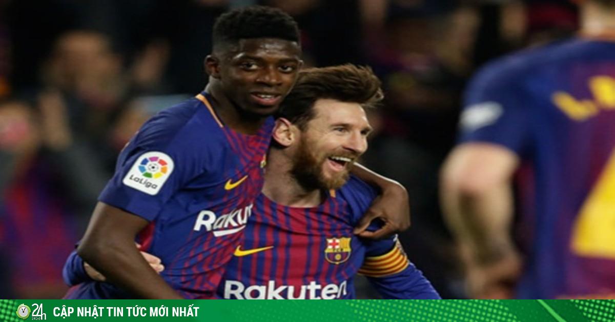 Bị Messi vùi dập, SAO 105 triệu euro dễ đến Juventus phò tá Ronaldo