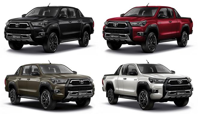 Xe bán tải Toyota Hilux phiên bản nâng cấp được thay đổi diện mạo đầy cá tính - 1