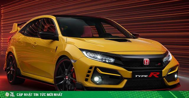 Honda Civic Type R Limited Edition giới hạn 100 chiếc toàn cầu