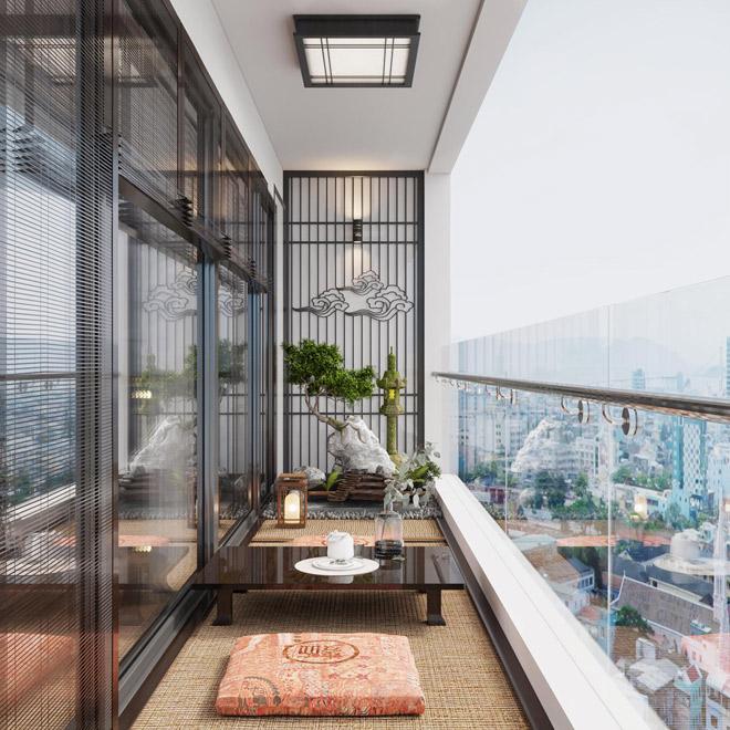 Ý tưởng thiết kế ban công độc đáo cho chung cư cao cấp - 1