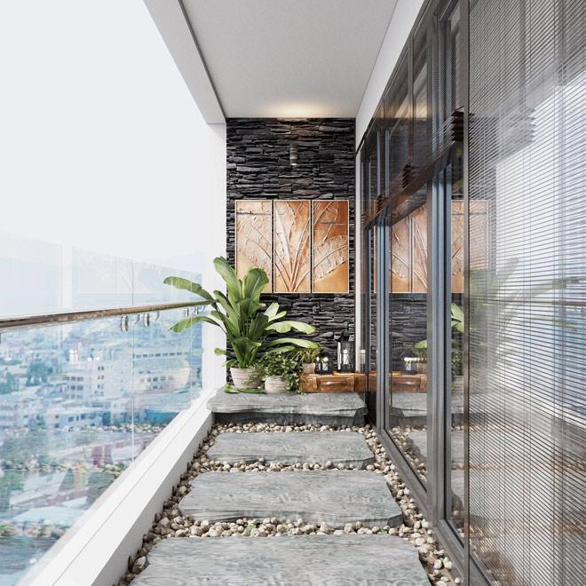Ý tưởng thiết kế ban công độc đáo cho chung cư cao cấp - 4