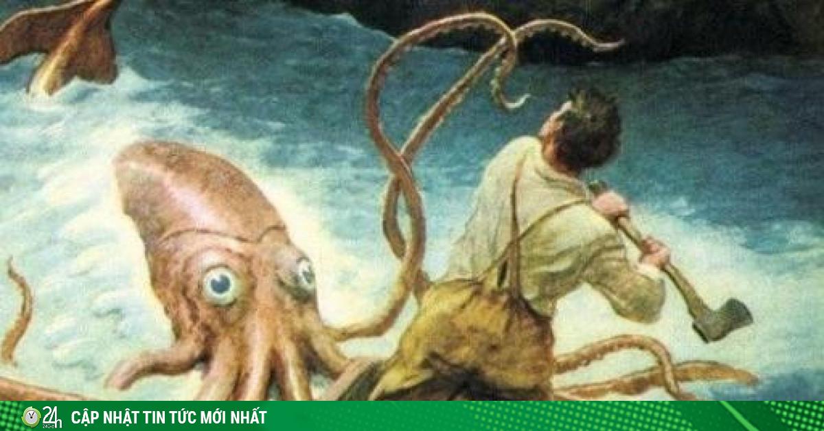Giải mã bí ẩn mực khổng lồ quái vật biển sâu