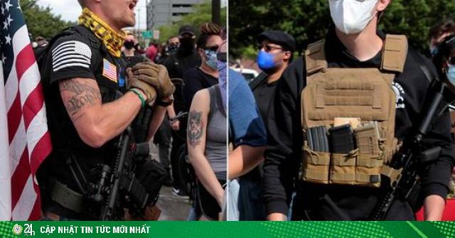Bạo loạn ở Mỹ: Lực lượng trang bị súng, áo chống đạn thay thế cảnh sát là ai?