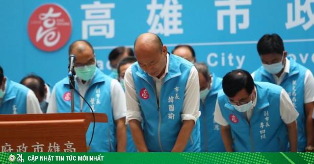 Đài Loan: Thị trưởng thân Trung Quốc bị mất chức theo cách chưa có tiền lệ