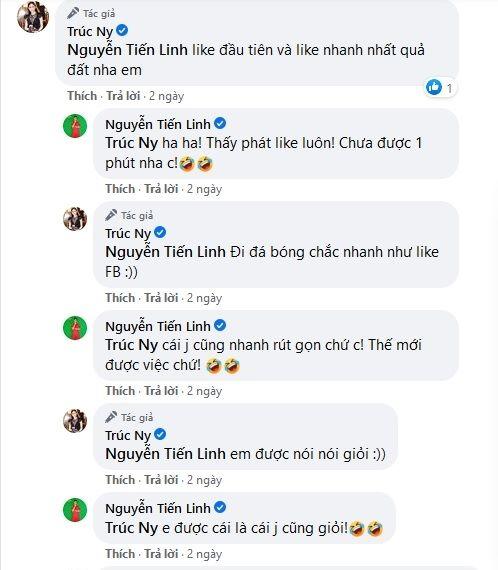 """Tiến Linh lộ bạn gái mới, mỹ nhân hơn 2 tuổi bị cộng đồng mạng """"săn lùng""""? - 4"""