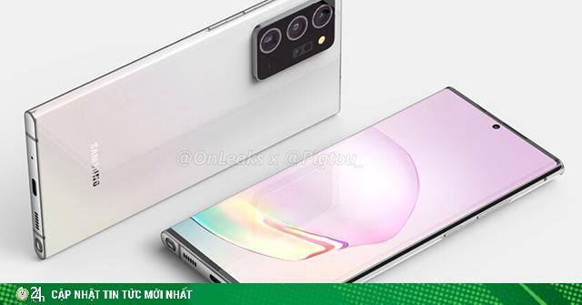 Chi tiết cấu hình của ba anh em nhà Galaxy Note 20 bất ngờ lộ diện