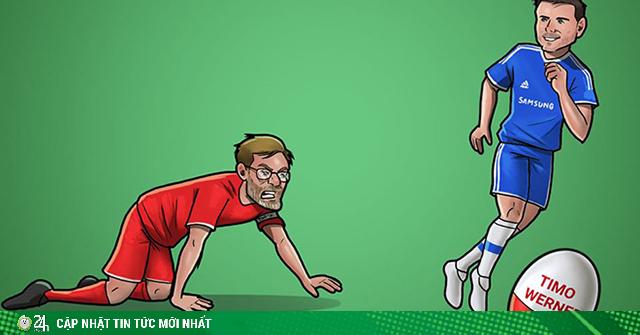Dân mạng chế ảnh Chelsea hạ đo ván Liverpool trên thị trường chuyển nhượng