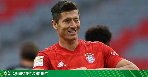 Lewandowski và mùa giải lịch sử: Hiệu quả hơn cả Messi & Ronaldo?