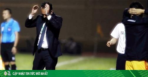 HLV khủng nhất V-League nhận tin cực buồn