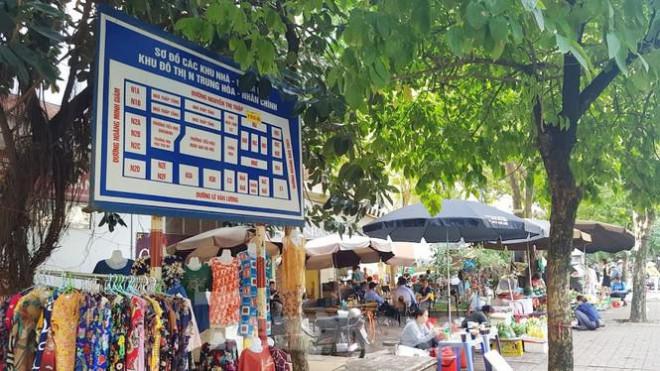 Cận cảnh ô 'đất vàng' dịch vụ cuối cùng đô thị mẫu Hà Nội bỏ hoang 20 năm - 8