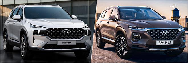 So sánh Hyundai SantaFe thế hệ trước sau và những thay đổi đáng giá - 5