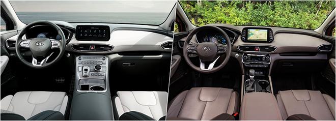 So sánh Hyundai SantaFe thế hệ trước sau và những thay đổi đáng giá - 8