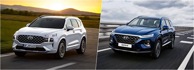 So sánh Hyundai SantaFe thế hệ trước sau và những thay đổi đáng giá - 6