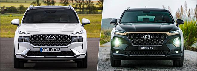 So sánh Hyundai SantaFe thế hệ trước sau và những thay đổi đáng giá - 3