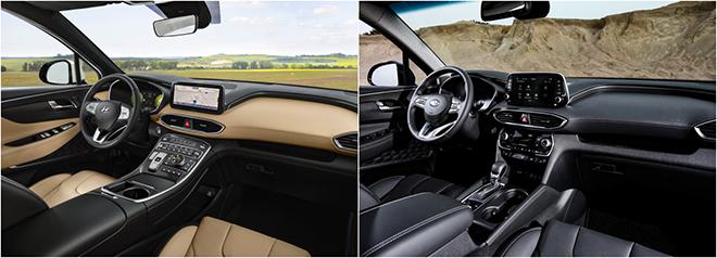 So sánh Hyundai SantaFe thế hệ trước sau và những thay đổi đáng giá - 9