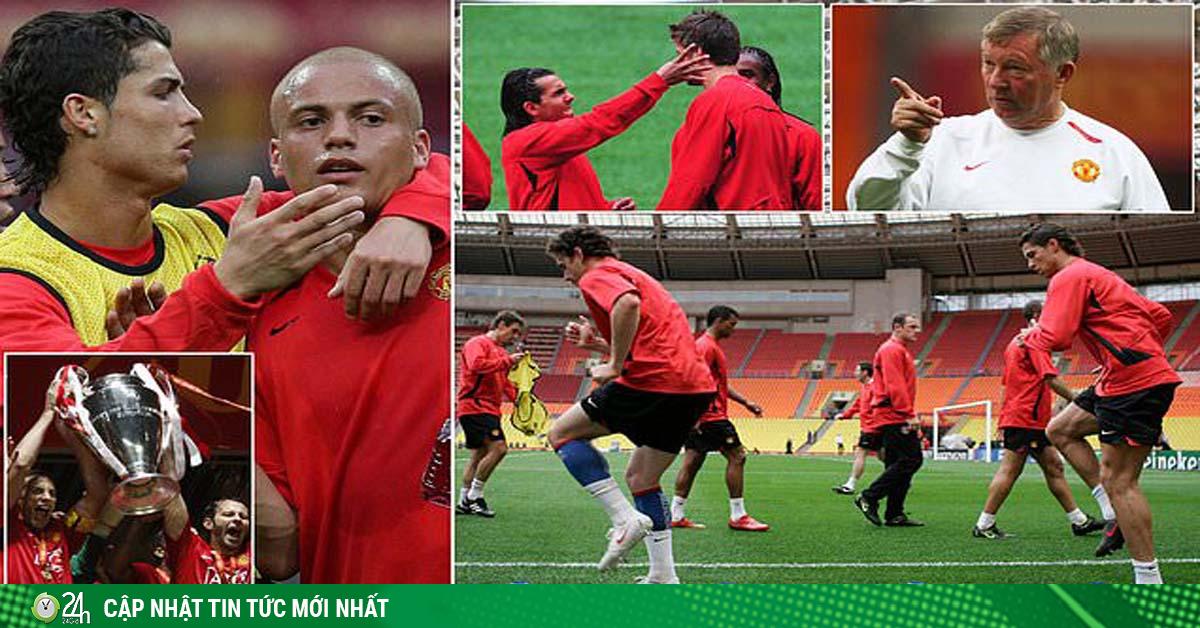 Tiết lộ MU trước chung kết C1 lịch sử 2008: Vì sao Ronaldo nổi khùng?