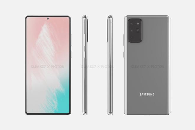 Samsung Galaxy Note 20 được cho là sẽ đi kèm với chipset Snapdragon 865 hoặc Exynos 990