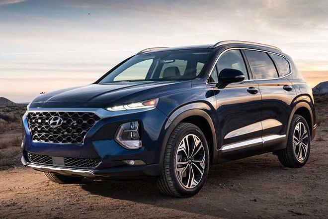 Giá lăn bánh xe Hyundai SantaFe mới nhất tháng 6/2020