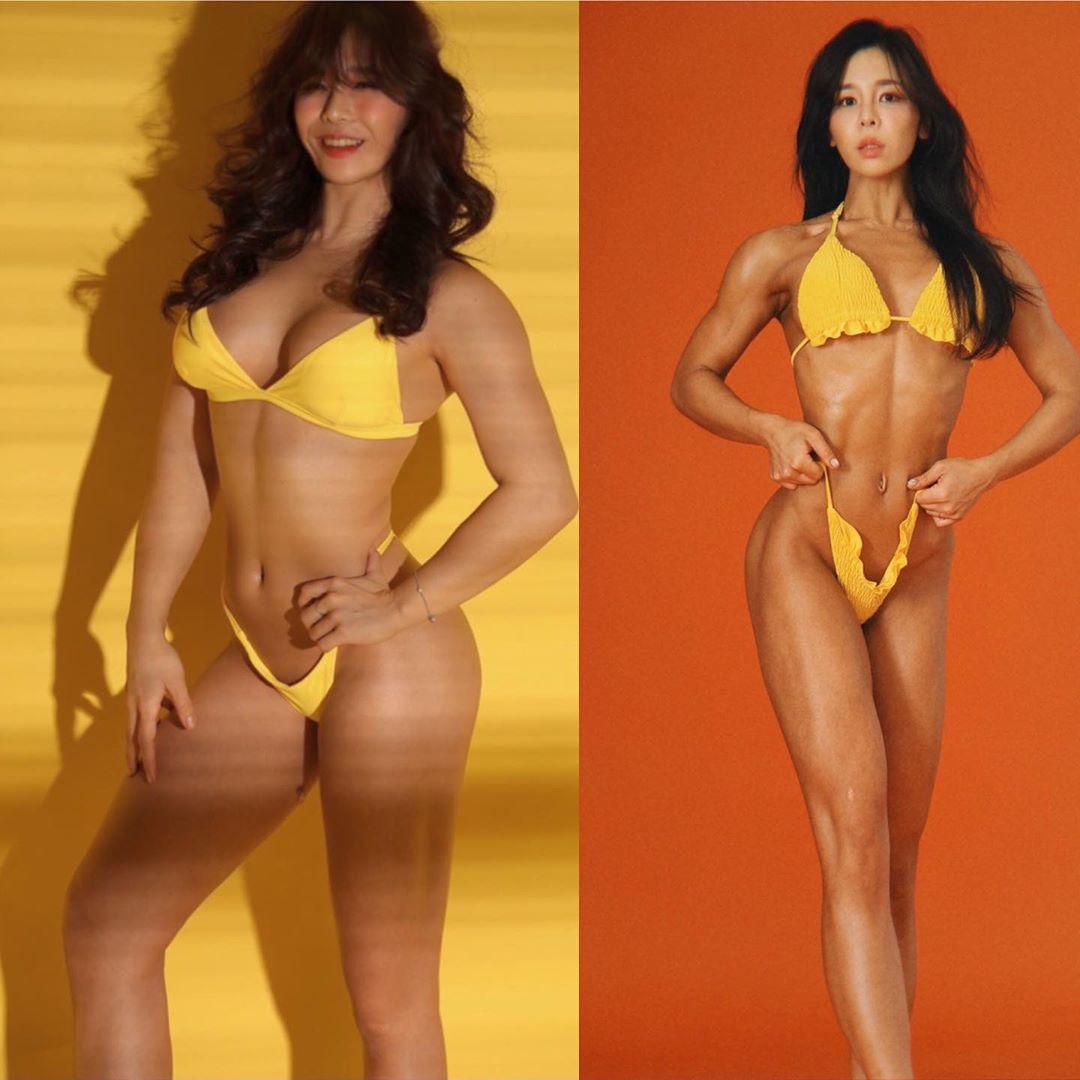 2 cô gái có cơ bắp cuộn như núi đá nhưng vẫn quyến rũ phái mạnh vì quá xinh đẹp - 11