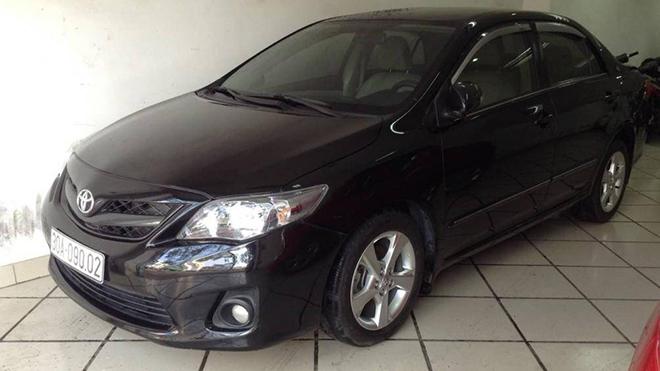 Toyota Corolla Altis sau 10 năm sử dụng vẫn có giá hơn 500 triệu đồng - 1