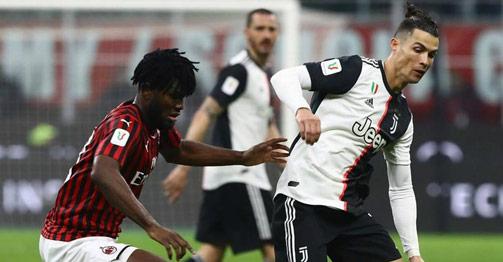 Trực tiếp bóng đá Juventus - AC Milan: Ronaldo đấu á quân World Cup săn vé chung kết