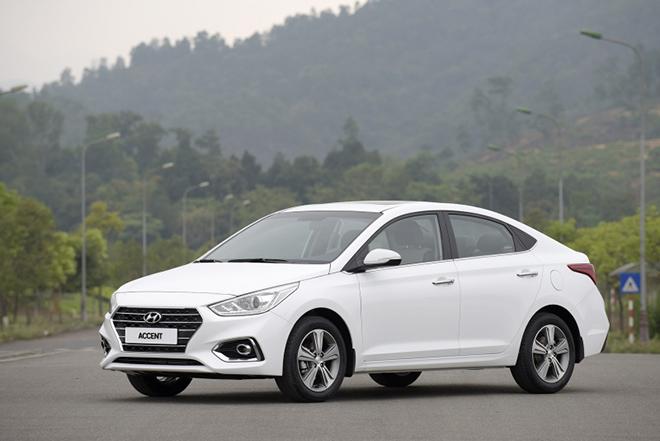 Giá lăn bánh Hyundai Accent cập nhật mới nhất tháng 6/2020 - 1