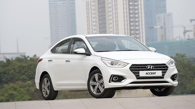 Giá lăn bánh Hyundai Accent cập nhật mới nhất tháng 6/2020 - 2