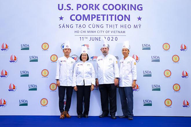 Cuộc thi ''Sáng tạo cùng thịt heo Mỹ
