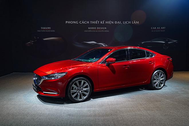 Mazda 6 phiên bản nâng cấp chính thức ra mắt thị trường Việt - 4