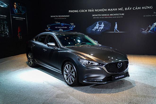 Mazda 6 phiên bản nâng cấp chính thức ra mắt thị trường Việt - 8