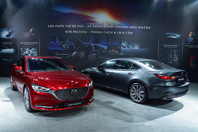 Mazda 6 phiên bản nâng cấp chính thức ra mắt thị trường Việt - 1