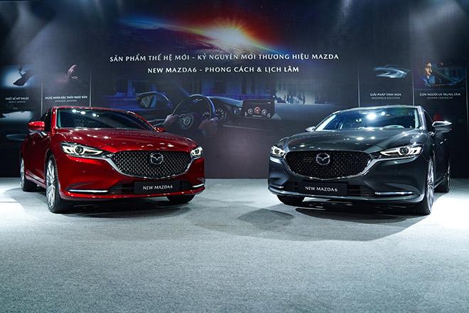 Mazda 6 phiên bản nâng cấp chính thức ra mắt thị trường Việt - 2