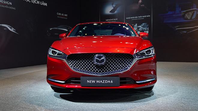 Mazda 6 phiên bản nâng cấp chính thức ra mắt thị trường Việt - 3