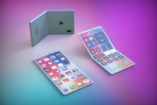 Xác nhận Apple đang sản xuất iPhone có màn hình gập lại - 1