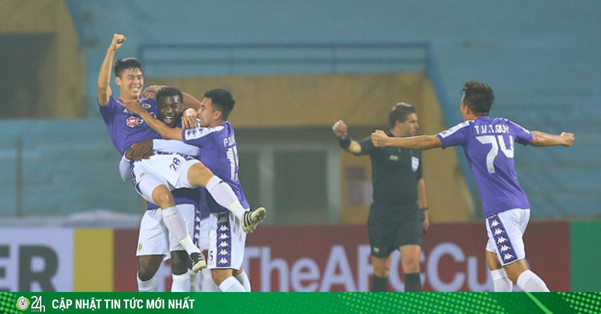 Lịch trực tiếp bóng đá hôm nay: Hà Nội đấu Sông Lam Nghệ An trực tiếp kênh nào?