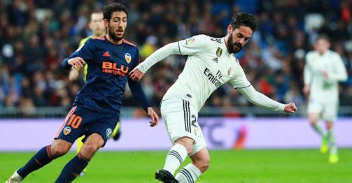 Trực tiếp bóng đá Real Madrid - Valencia: Hazard đá chính, đội chủ nhà ép sân