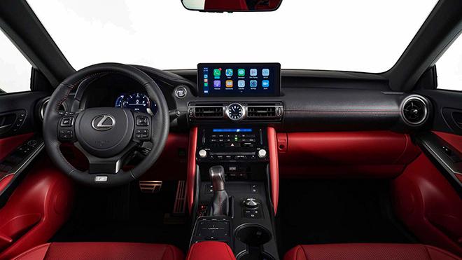 Lexus IS thế hệ mới chính thức ra mắt, thay đổi để cạnh tranh BMW 3-Series và C-Class - 6