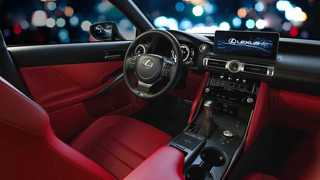 Lexus IS thế hệ mới chính thức ra mắt, thay đổi để cạnh tranh BMW 3-Series và C-Class - 7