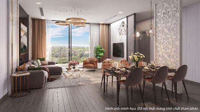 """Khám phá căn hộ cao cấp liền kề khu """"thượng lưu"""" Vinhomes Riverside - 2"""